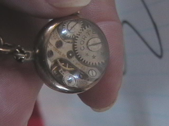 back of Cortebert watch