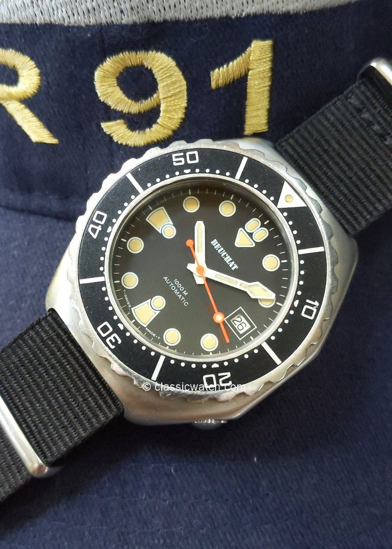 Beuchat French Navy Vintage Watches: rx1405