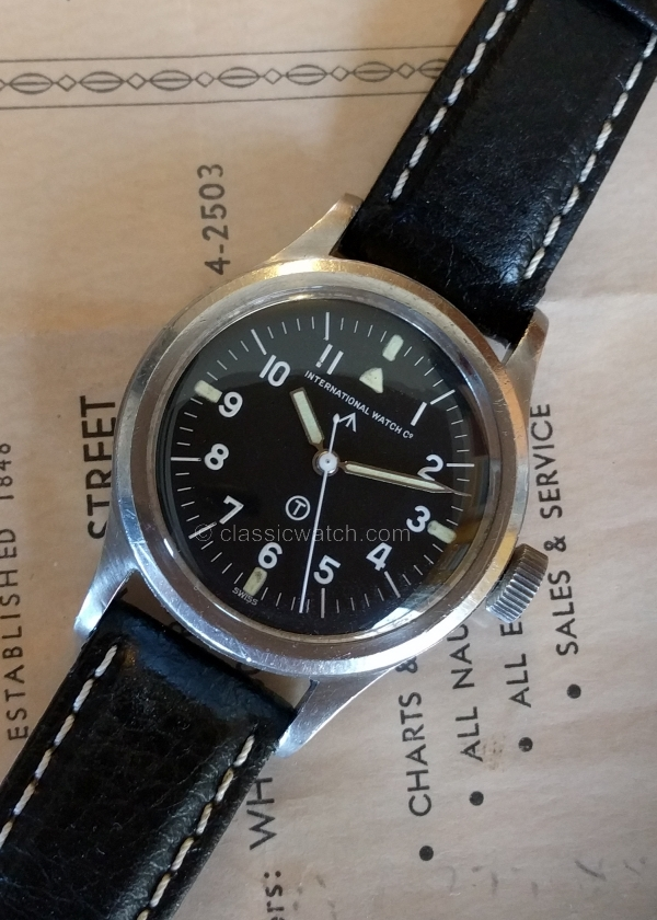 IWC Mark 11 Vintage Watches: rxr0305