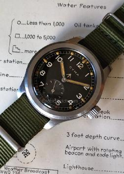 Cyma British Military W.W.W. Military Watches: rx0956