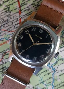 Eterna Czech Military Military Watches: rx1087