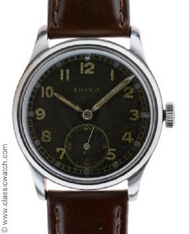 Doxa German D.H. Military Watches