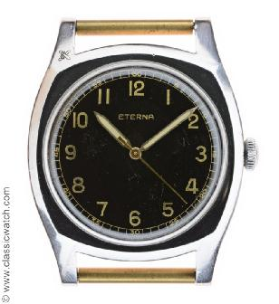 Eterna Czech Military Watches
