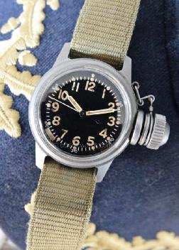 Elgin Canteen Divers Military Watches: rx1253