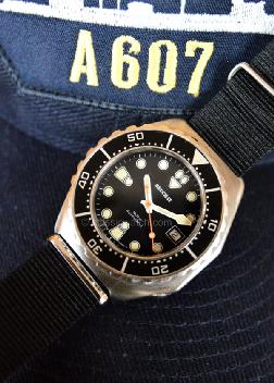 Beuchat French Navy Military Watches: rx1256