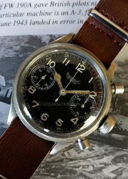 Hanhart Luftwaffe Used Watches: rx1322