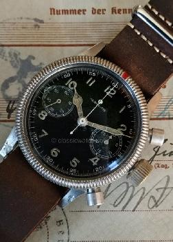 Glashutte Luftwaffe Used Watches: rx1352