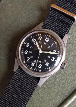 Benrus U.S. Military Vietnam Used Watches: rx1359