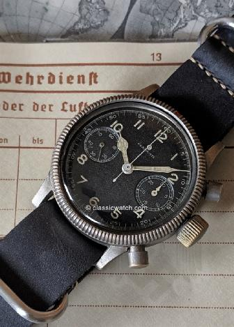 Glashutte Luftwaffe Latest Watches: rx1396