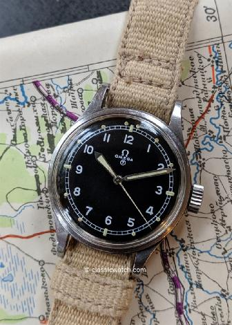 Omega British RAF 53 Watches : rx1398
