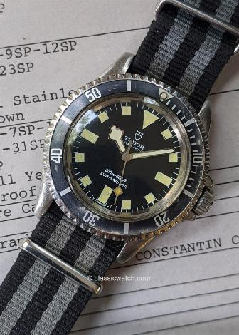 Tudor French Navy Used Watches: rx1418