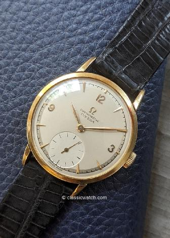 Omega Chronometer 30T2 RG Latest Watches: rxc0012