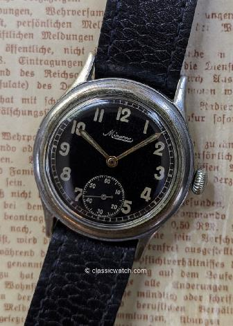 Minerva German D.H. Used Watches: rxc0029