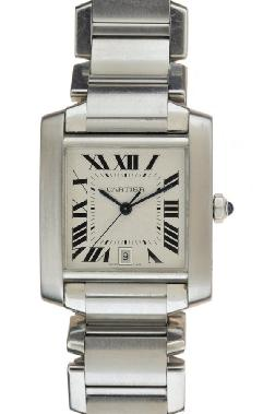 Cartier Tank Francaise 2302 Wrist Watches