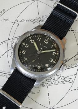 Cyma British Military W.W.W. Used Watches: rxr0341