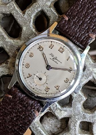 Smiths Everest Vintage Wrist Watches: rxr0364