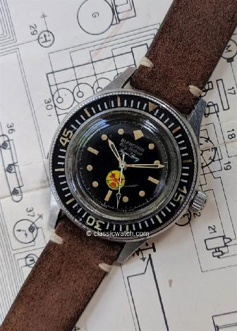 Blancpain Fifty Fathoms Vintage Wrist Watches: rxr0369