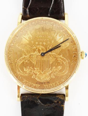 Corum 20 dollar gold piece Wrist Watches